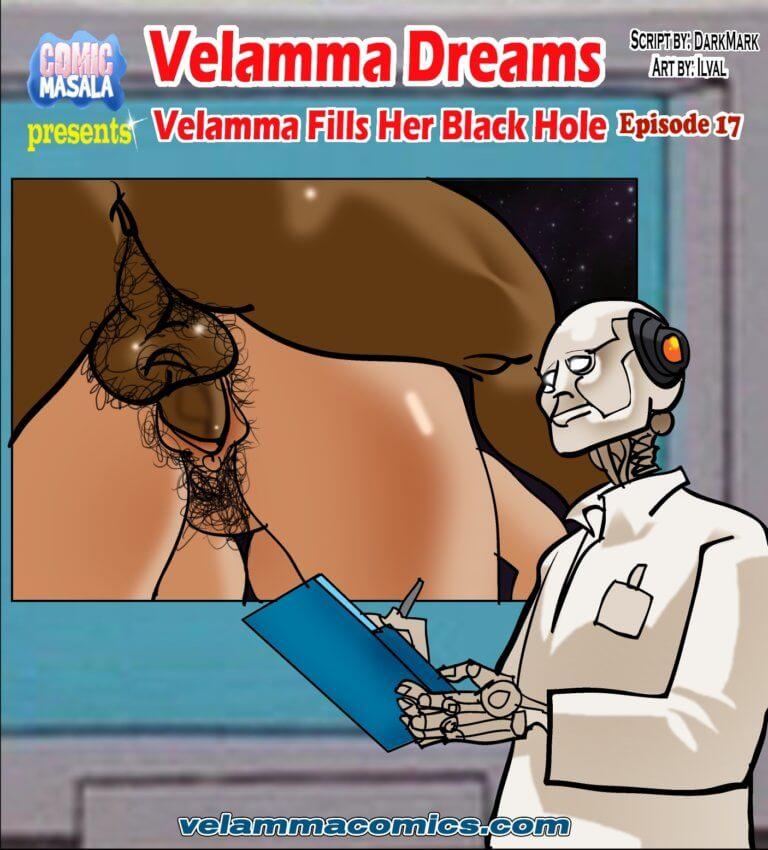 Velamma Dreams Episode 17 - Velamma Fills Her Black Hole